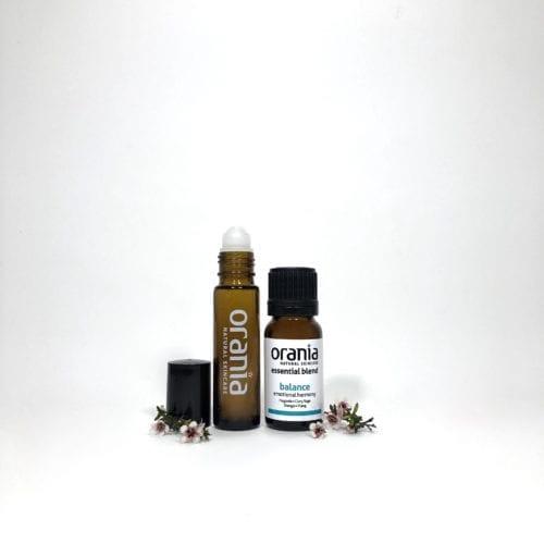 essential oil blend NZ rollon natural perfume balance hormone menopause