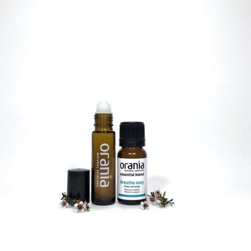 essential oil blend NZ rollon natural perfume clear airways breathe easy cold flu sinus
