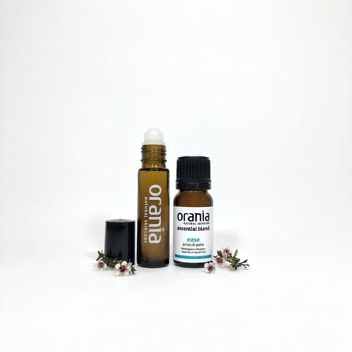 essential oil blend NZ rollon natural perfume muscle ache ease massage deep heat arthritis