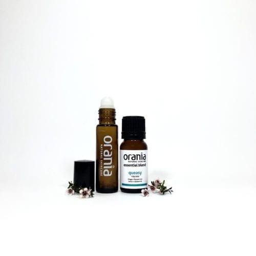 essential oil blend NZ rollon natural perfume nausea queasy