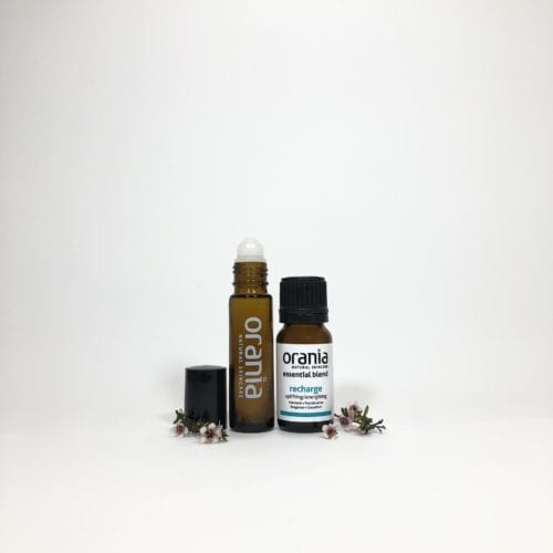 essential oil blend NZ rollon natural perfume recharge revive refresh