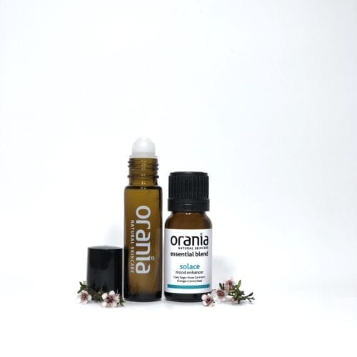 essential oil blend NZ rollon natural perfume comforting solace